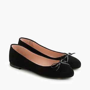J.Crew Black Ballet Flats 9.5